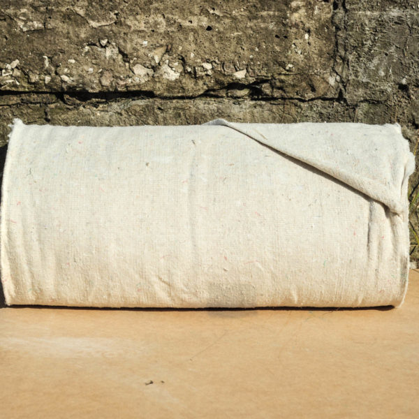 Светлая холстопрошивная ткань